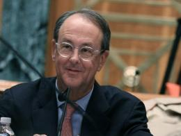 Erskine Bowles, pictured in 2010, a former chief of staff to Bill Clinton, has joined the board of directors of Facebook