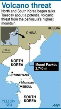 Experts fear Mount Paekdu has an active core