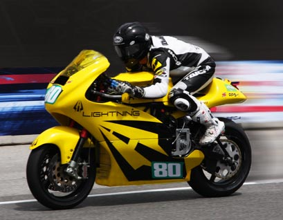 Fastest Electric Motorcycle Tops 200 Mph For World Record