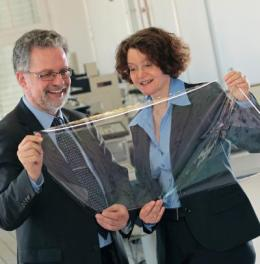 Flexible films for photovoltaics