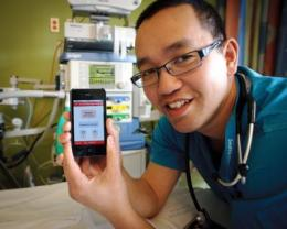 Free phone app helped doctors perform better in simulated cardiac emergency (UK)
