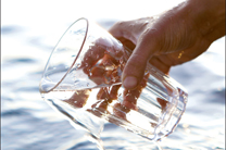 From seawater to freshwater with a nanotechnology filter