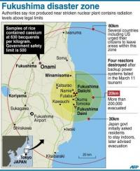 Fukushima disaster zone