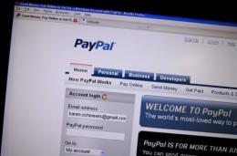 Gifts of money sent to Facebook members through PayPal can be announced with digital greeting cards, videos or pictures