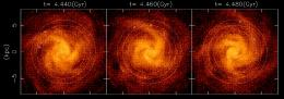 New theory of evolution for spiral galaxy arms