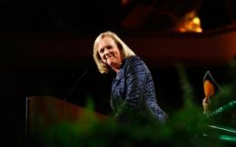 HP's chief executive Meg Whitman, pictured in 2010