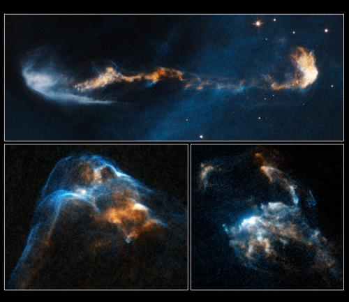 Hubble movies provide unprecedented view of supersonic jets from young stars