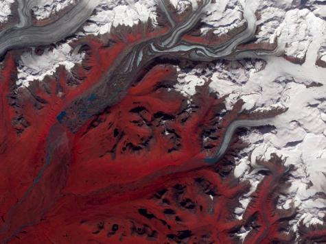 Image: Alaska's Susitna Glacier