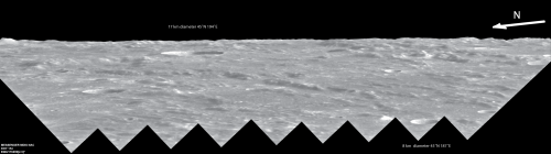 Incredible 'Sideways' look at Mercury's limb