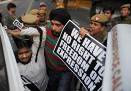 Indian micro-blogging sites have ridiculed the government minister who suggested censoring material on the web