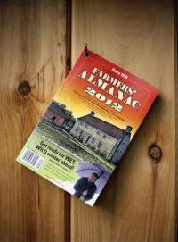 In Farmers' Almanac, folksy meets the future (AP)