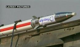 In mid-March, Iran announced the successful launch of an earlier version of the rocket, Kavoshgar-4