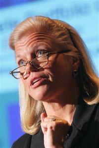 In naming female CEO, IBM passes gender milestone (AP)