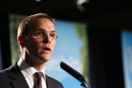 James Murdoch is News Corp. deputy COO