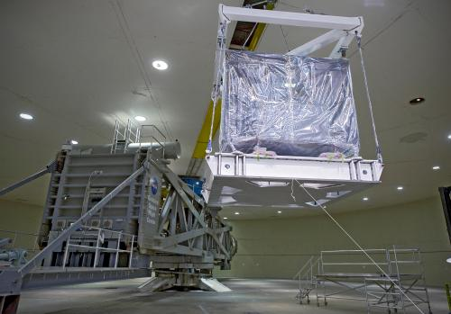 James Webb space telescope ISIM on 'spin cycle'