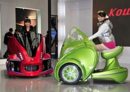 Japan's robot venture Kowa-tmsuk unveils its electric personal mobility