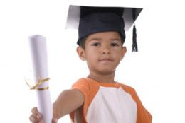 Kids' savings, college success linked