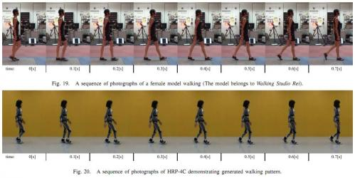 HRP-4C female robot has a new walk (w/ video)