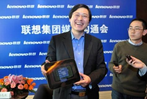 Lenovo's LePad tablet computer is powered by Android software backed by California Internet giant Google