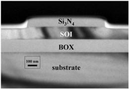 Mapping deformation in buried semiconductor structures using the hard X-Ray nanoprobe