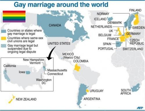 First country and same sex marriage legalized