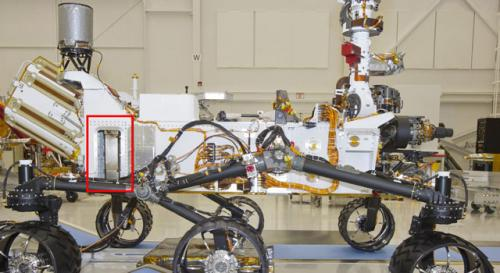Mars Rover Carries Device for Underground Scouting