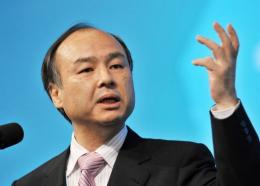 Masayoshi Son, the chief of Japanese Internet and telecom giant Softbank