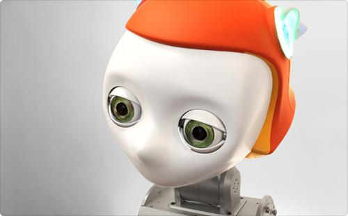 Meka's robot head makes eyes at next-wave users (w/ video)