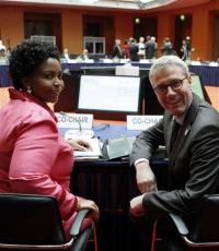 Merkel: binding, verifiable climate targets needed (AP)