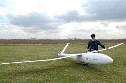 Micro aircraft IMPULLS improves avionic systems and sensors