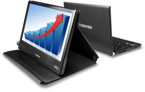 Toshiba shows USB mobile LCD monitor (w/ video)