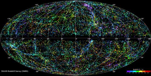 Most complete 3-D map of local universe unveiled