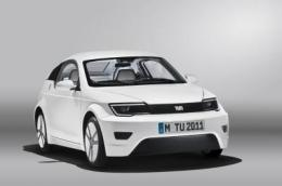 MUTE -- Efficient city car, showcase for electromobility research