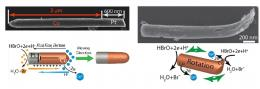 Tiny battery is also a nanomotor