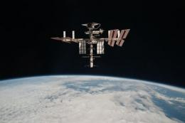 NASA image released in June 2011 shows the International Space Station and the docked space shuttle Endeavour
