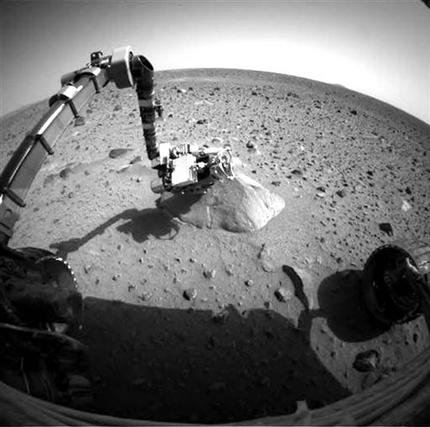 NASA: Mars rover, phone home after yearlong sleep (AP)
