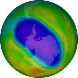 NASA, NOAA data show significant Antarctic ozone hole remains