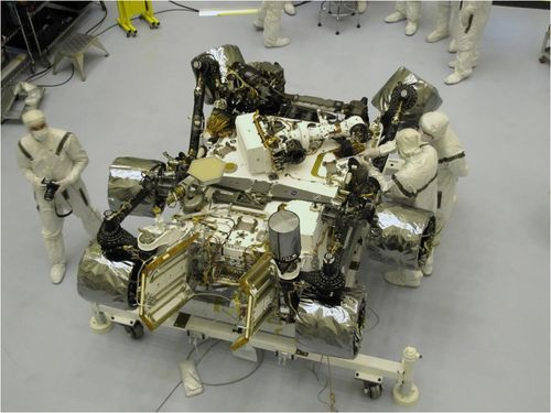NASA ready for November launch of car-size Mars rover