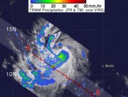 NASA sees Katia become second Atlantic Hurricane