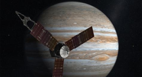 NASA's Jupiter-Bound Spacecraft Arrives in Florida