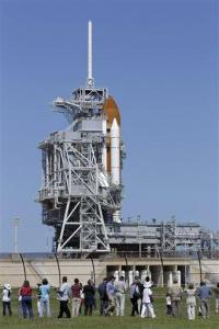 NASA to know Sunday whether shuttle can fly Monday (AP)