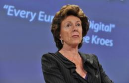 Neelie Kroes, the commissioner responsible for the EU's digital agenda