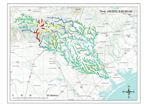 New flood prediction technology simulates rivers 100x faster than real time