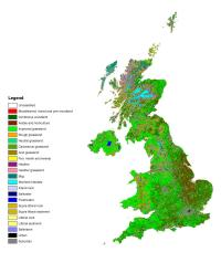 New map shows makeup of British landscape