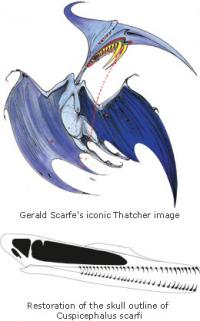 New pterosaur species named after political cartoonist Gerald Scarfe