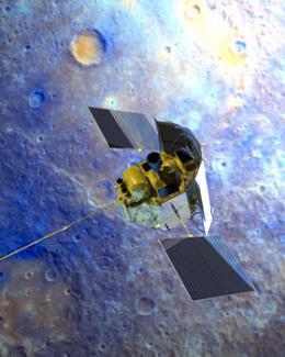 Orbiting around Mercury