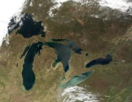 PCBs were detected in the Great Lakes for the first time in 1966