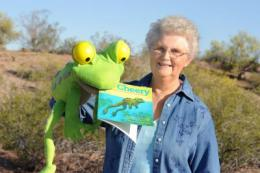 Picture book portrays a 'hoppy' future for endangered frogs