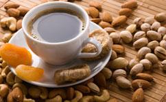 Pistachios make healthy decafs