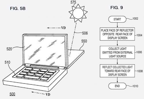 Apple has solar designs, wins patents